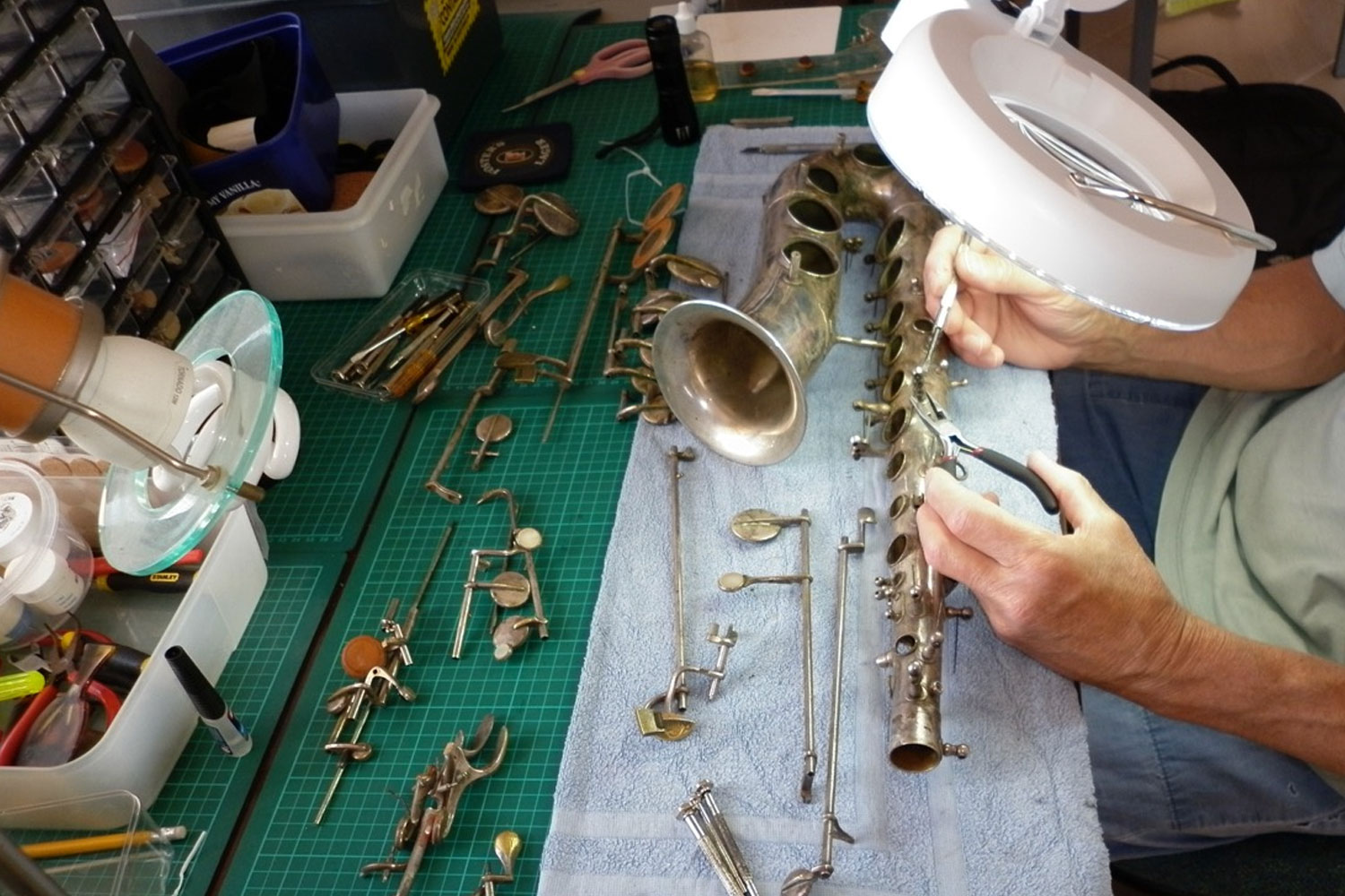 King Saxophone Repairs and Overhaul